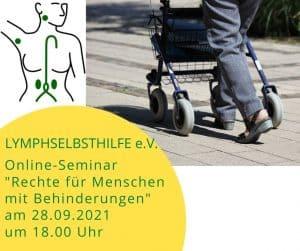 Rechte für Menschen mit Behinderungen